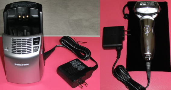 パナソニック ラムダッシュ ES-LV80 本体 全自動洗浄充電器を電源に接