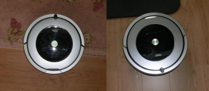 ルンバ876 カーペット&ゴムマット掃除